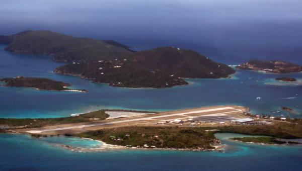 British Virgin Island – Beef Island Control Tower and Airport